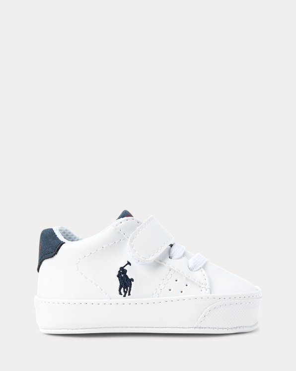 Theron Faux-Leather Trainer