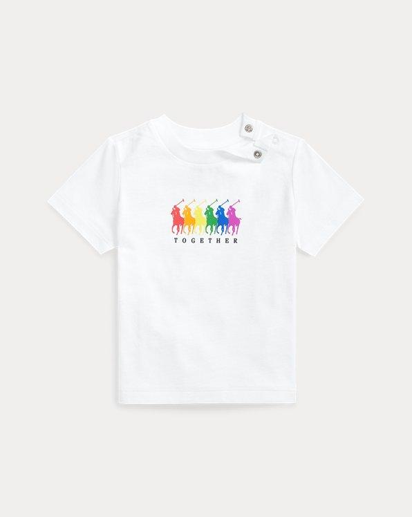 Maglietta Pride in jersey di cotone