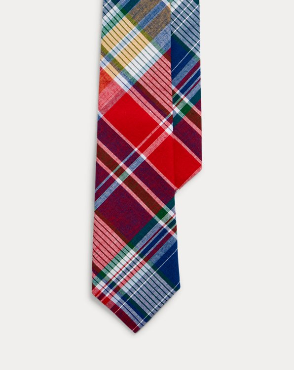 Cotton Madras Tie