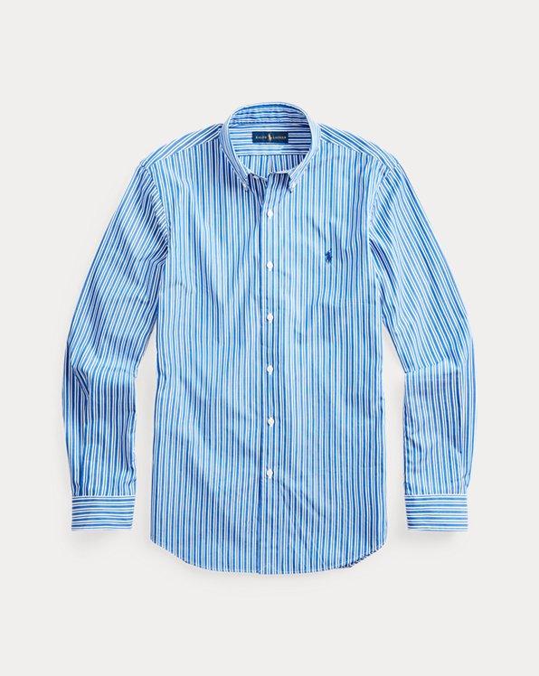 Custom-Fit-Hemd mit Streifen