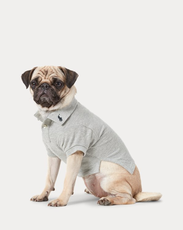 Cotton Mesh Dog Polo Shirt