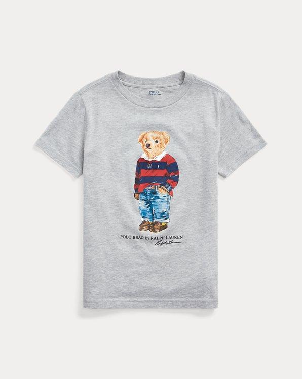 Camiseta de algodón con Polo Bear rugby