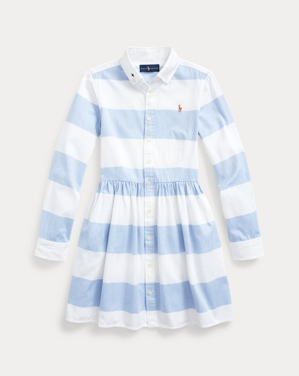 Rugby Cotton Oxford Shirtdress