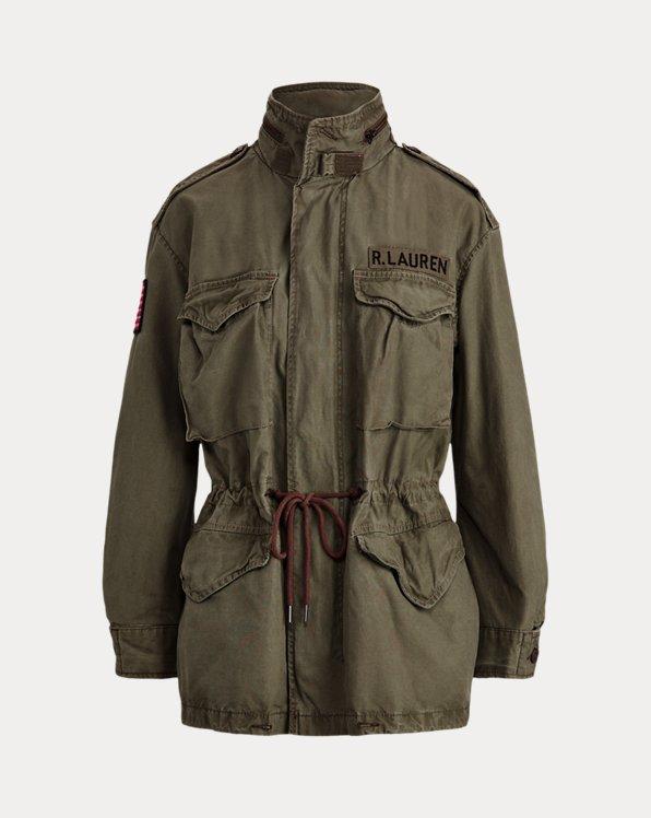 Cotton Military Jacket