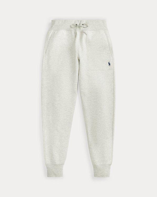 Pantaloni jogging a maglia doppia