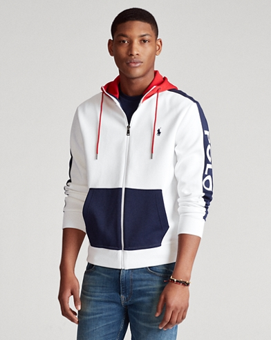 Colour-Blocked Hoodie