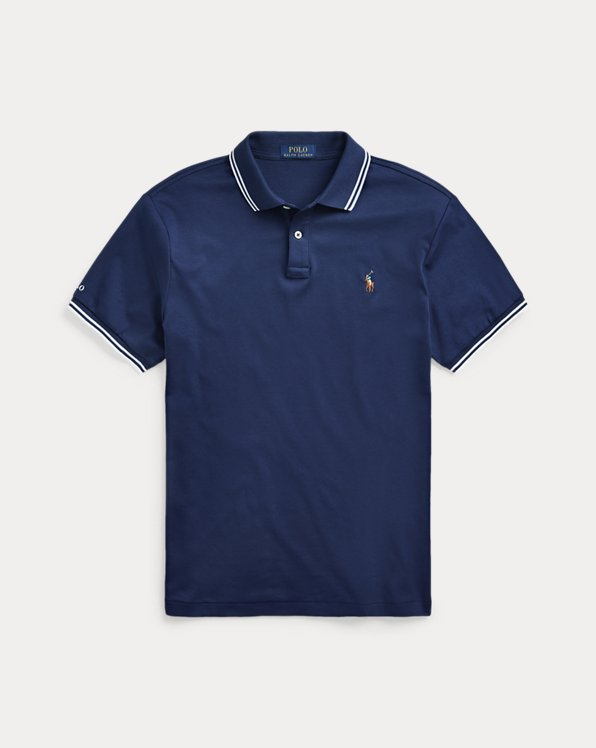 Custom-Slim-Fit Interlock-Polohemd