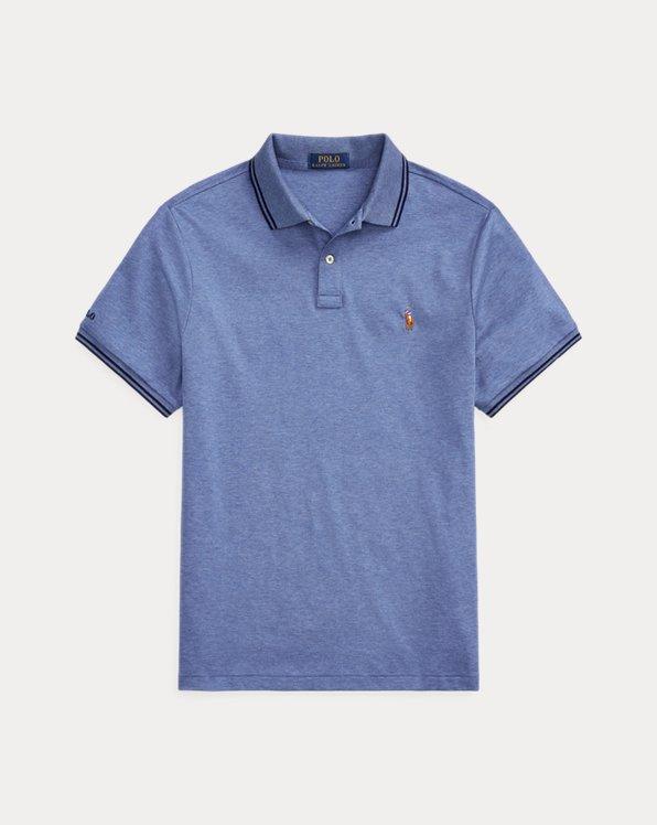 Polo in interlock Custom Slim-Fit