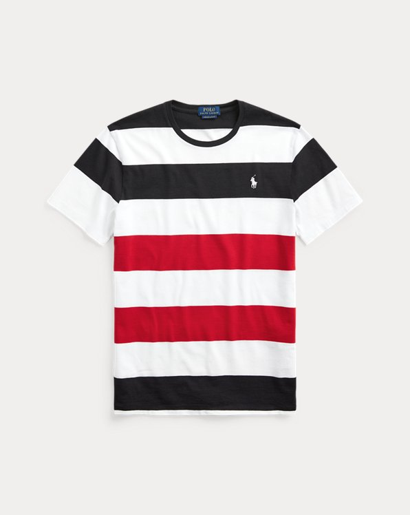 Custom Slim Striped T-Shirt