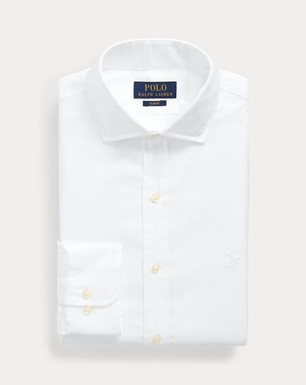 Camisa de dobby Slim Fit