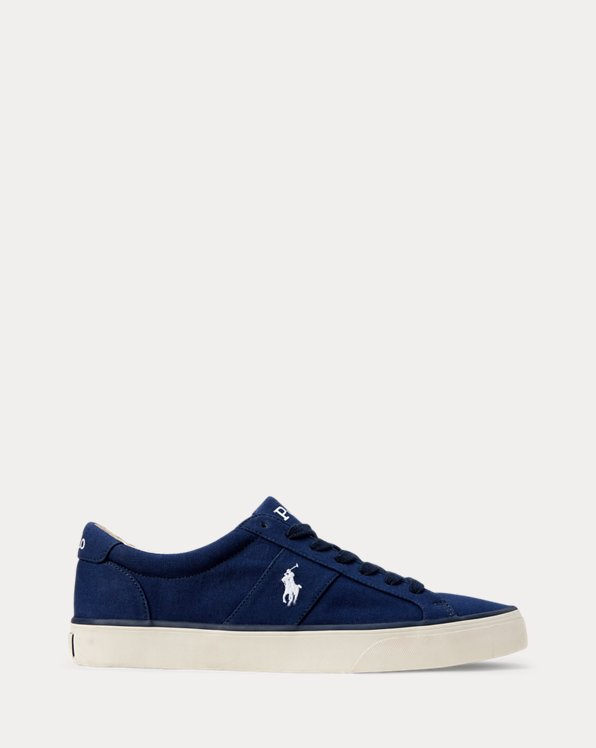Canvas Low-Top Trainer