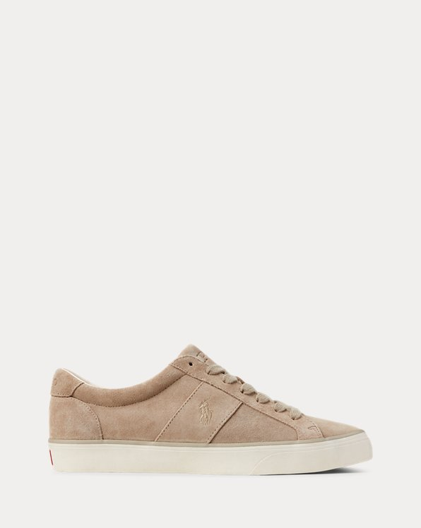 Suede Low-Top Trainer