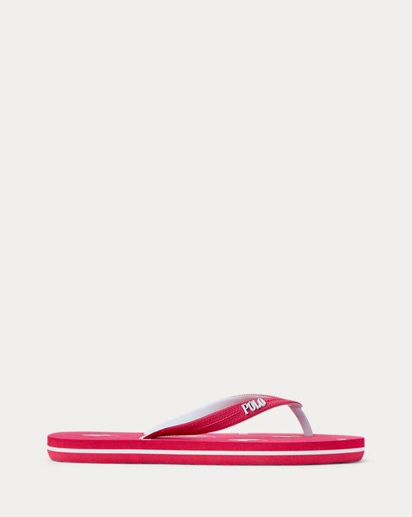 Pony-Print Flip-Flop Sandal