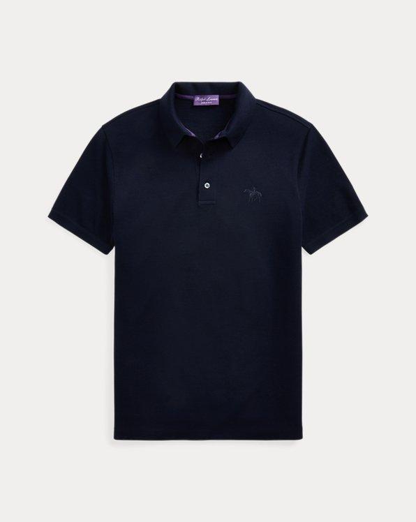 Merino Wool Piqué Polo Shirt