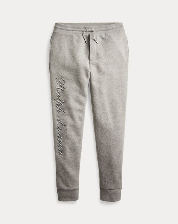 Embroidered Fleece Trouser