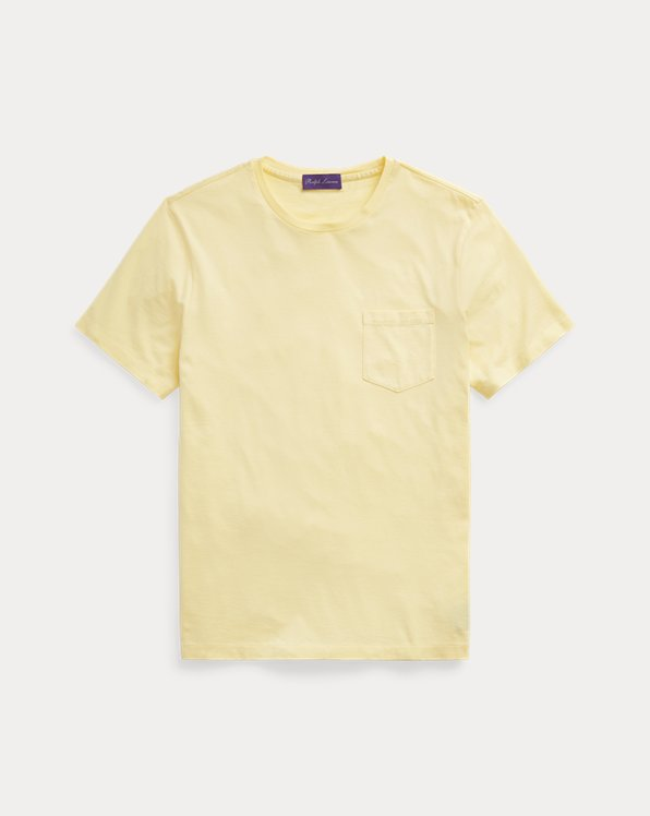 Washed Jersey Pocket T-Shirt