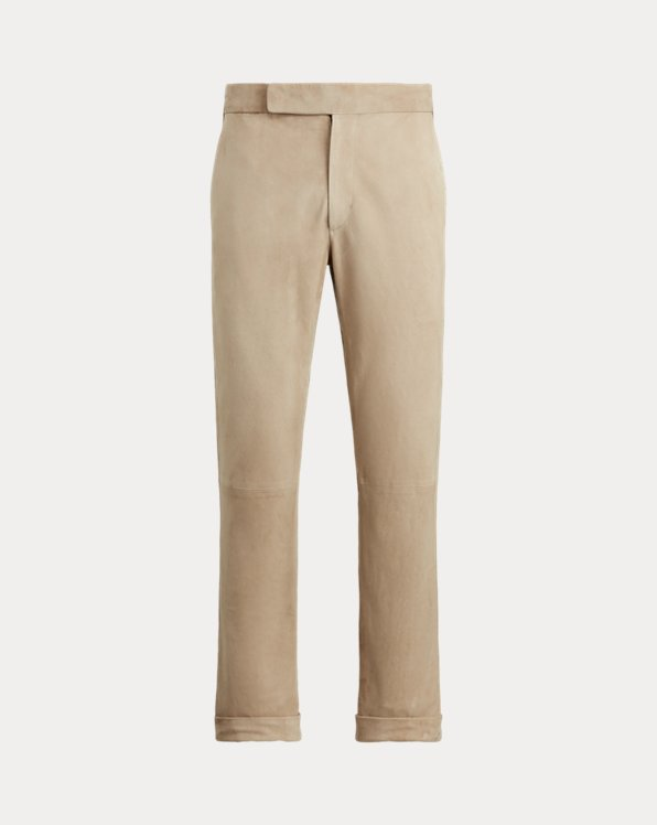 Gregory Suede Suit Trouser