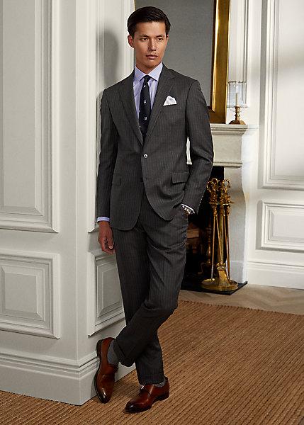Polo RalphLauren Gregory Traveler Wool Twill Suit