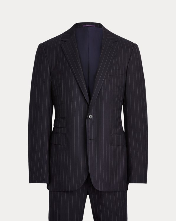 Gregory Pinstripe Twill Suit