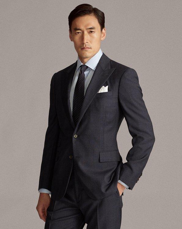 Gregory Glen Plaid Wool Suit