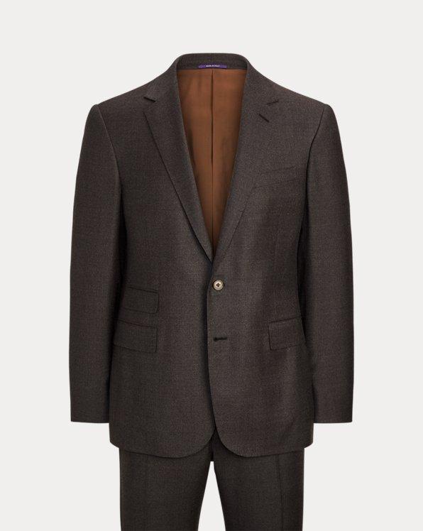 Gregory Plaid Wool-Blend Suit