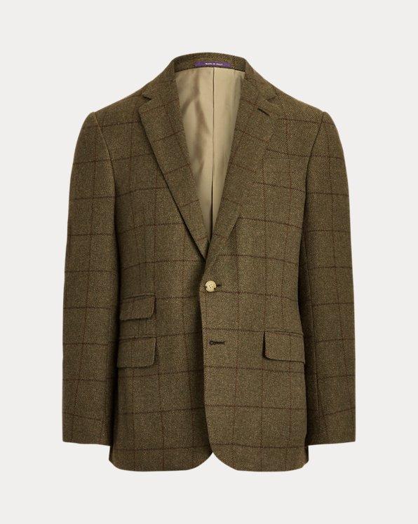 Kent Windowpane Wool-Blend Sport Coat