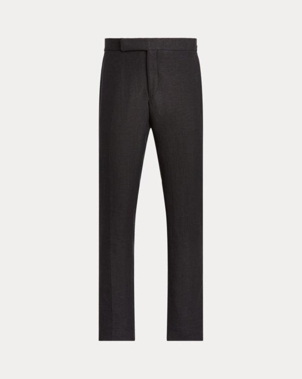 Silk-Linen Suit Trouser