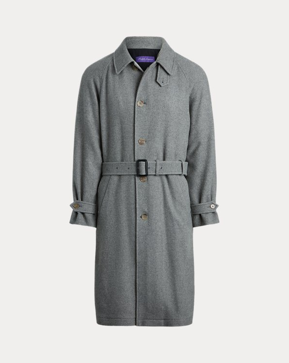 Merino Wool Birdseye Topcoat