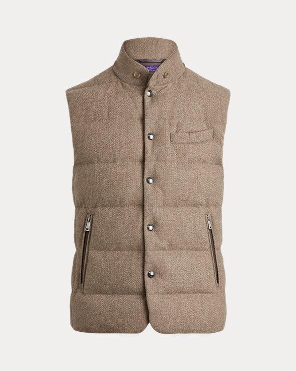 Whitwell Tweed Down Vest