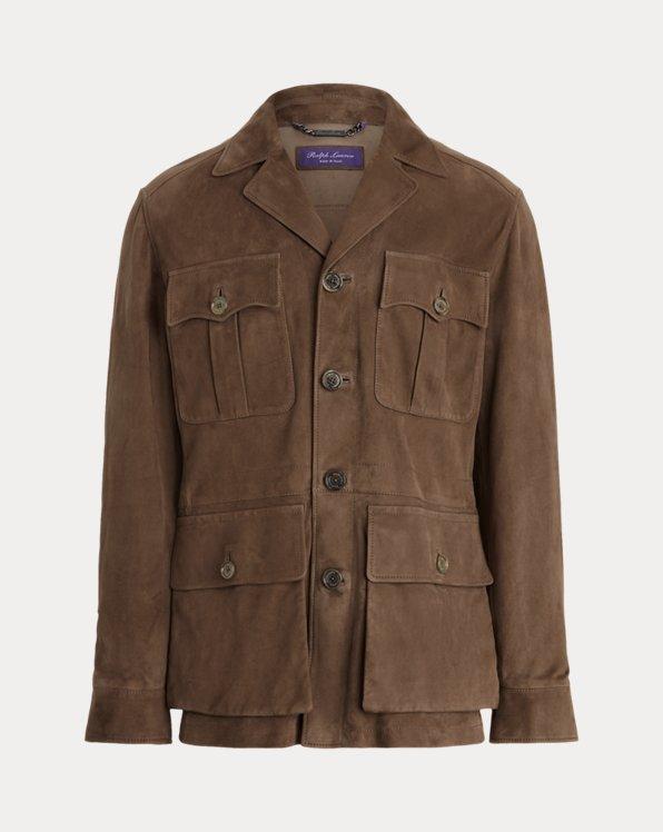 Edmund Suede Jacket