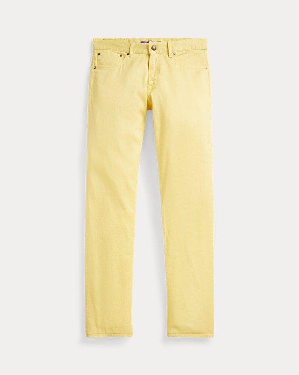 Slim Garment-Dyed Stretch Jean