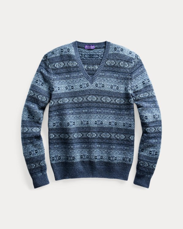 Fair Isle Cashmere Sweater