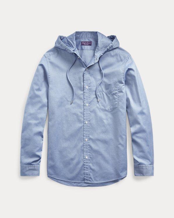 Hooded Oxford Shirt