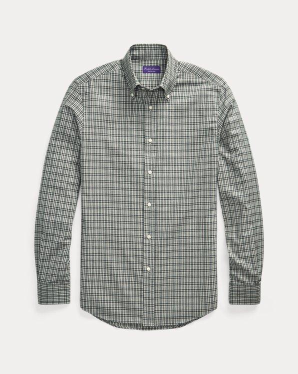 Kariertes Hemd aus Twill