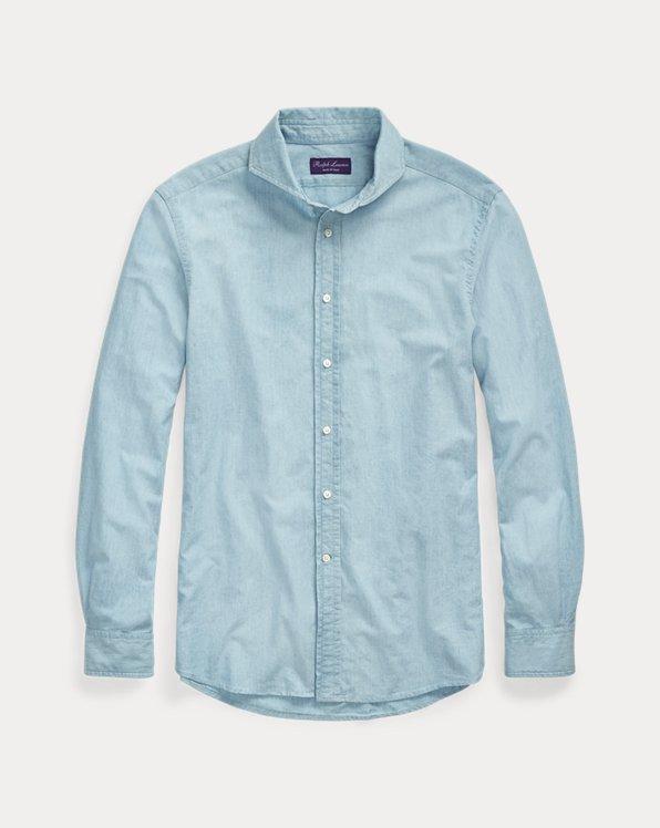 Keaton Indigo Chambray Shirt