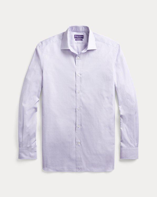 Glen Plaid Pique Shirt