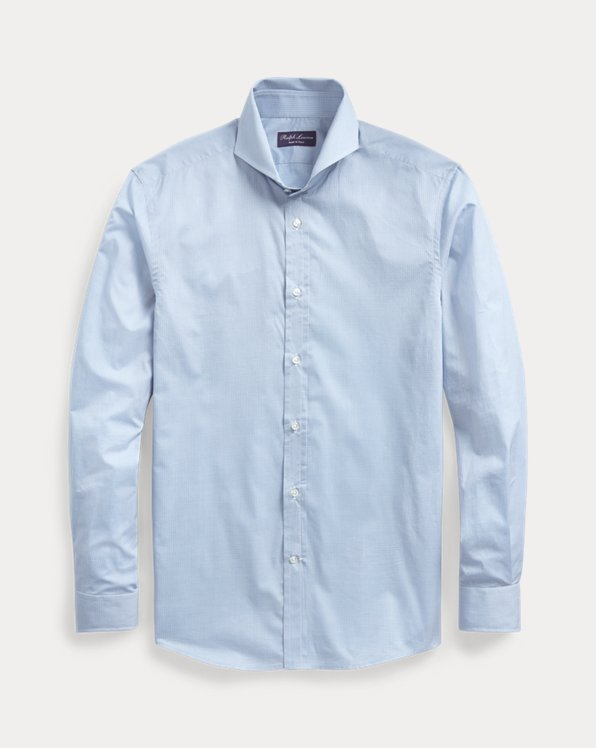 Keaton Micro-Gingham Shirt