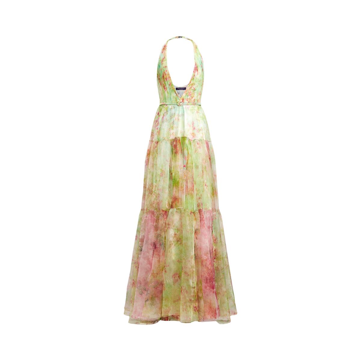 banda superstizione festa  Verona Floral Organza Dress