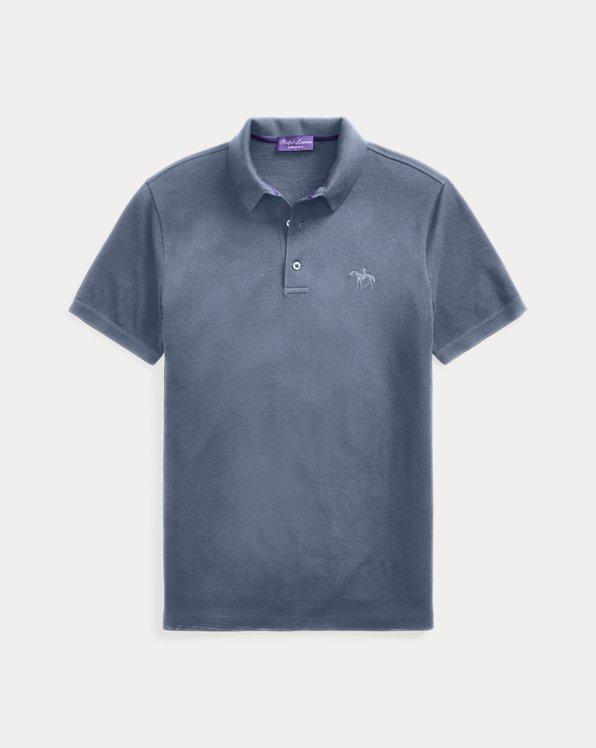 Wool Pique Polo Shirt