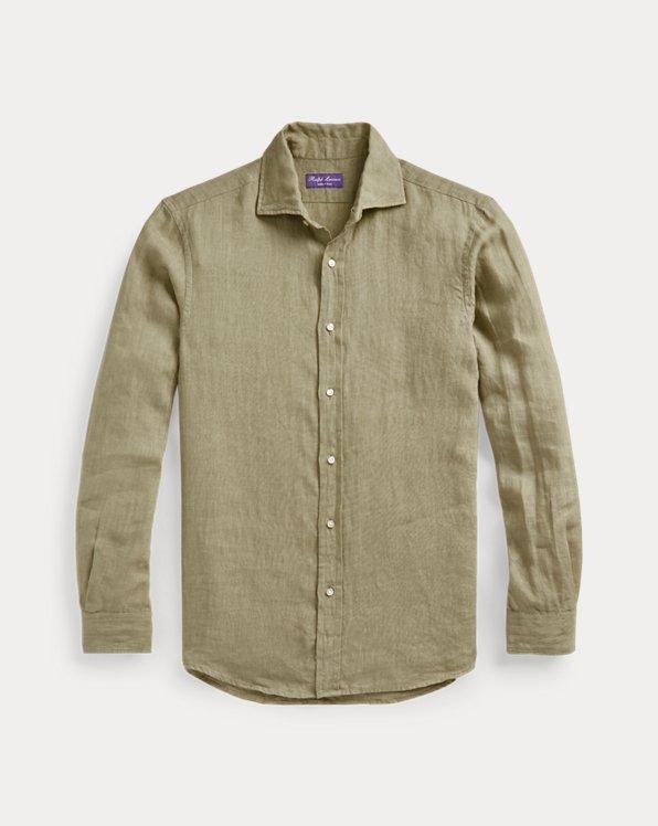 Konfektioniert gefärbtes Leinenhemd