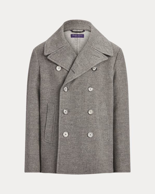 Royston Merino Wool Pea Coat