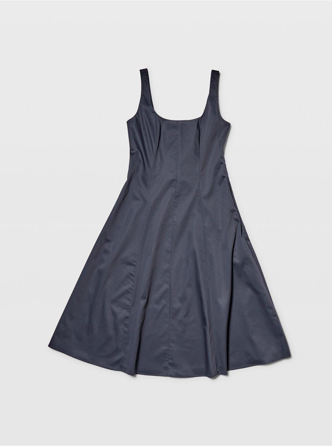 Wide Neck Panel Dress