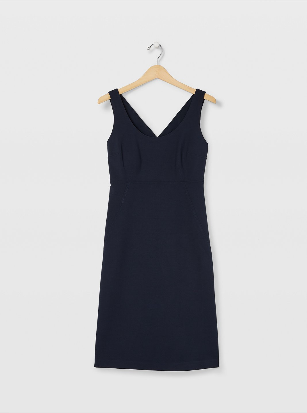 Button Back Vent Dress