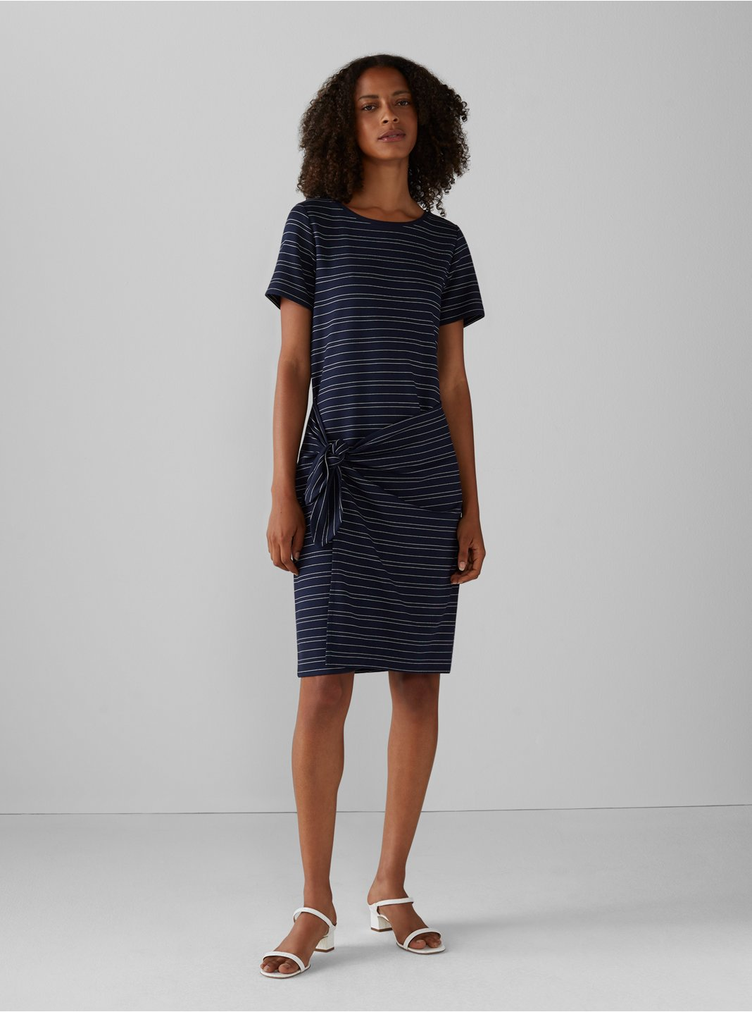 Striped Twansia Dress