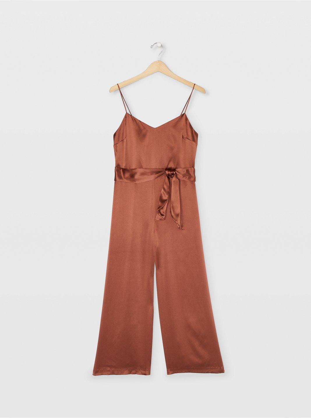 Silk Camisole Jumpsuit