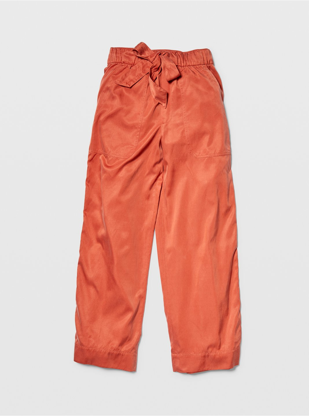 Belted Pull-On Pants
