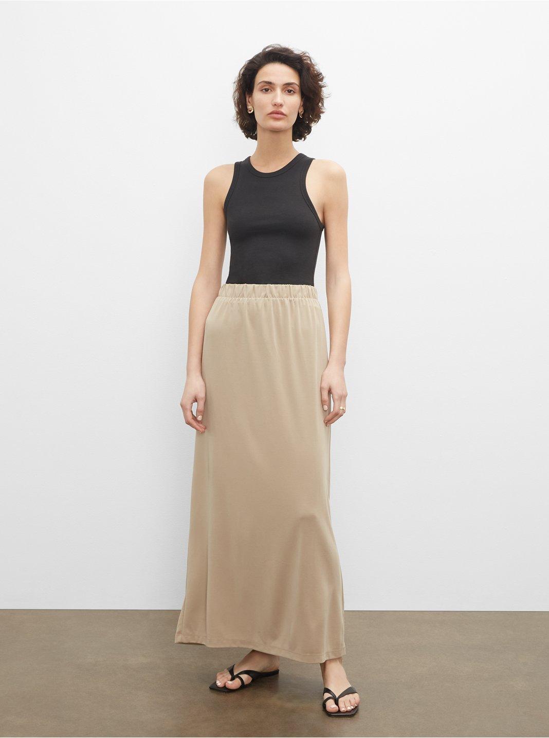 Sandwash Maxi Skirt