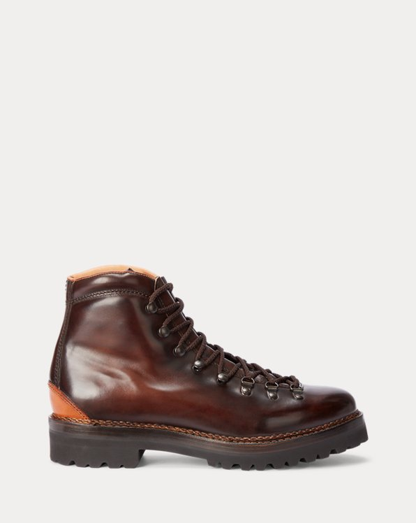 Fidel Burnished Calfskin Boot
