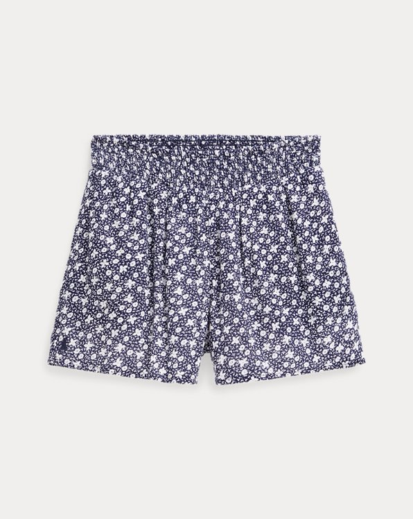 폴로 랄프로렌 Polo Ralph Lauren Floral Cotton-Blend Short,Blue Multi