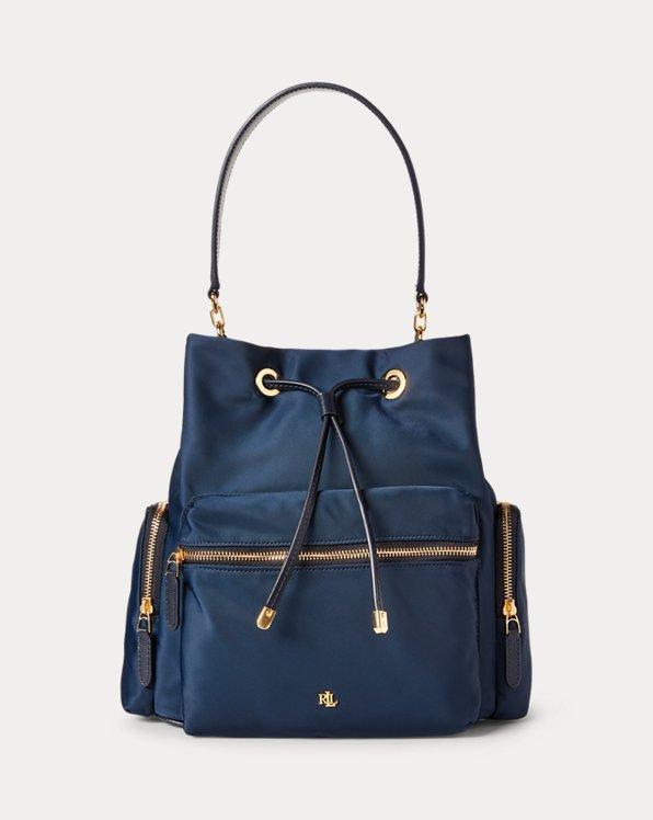 Polo Ralph Lauren Nylon Debby Drawstring Bag